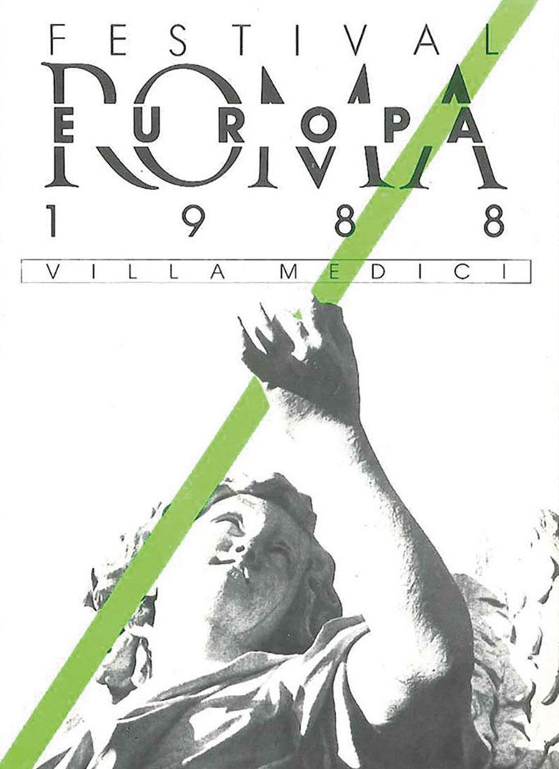 Romaeuropa Festival 1988